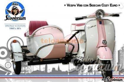 Vespa Con Sidecar Segunda Mano Cozy Euro Scooters Motos Madrid Sidecar Vespa Motos