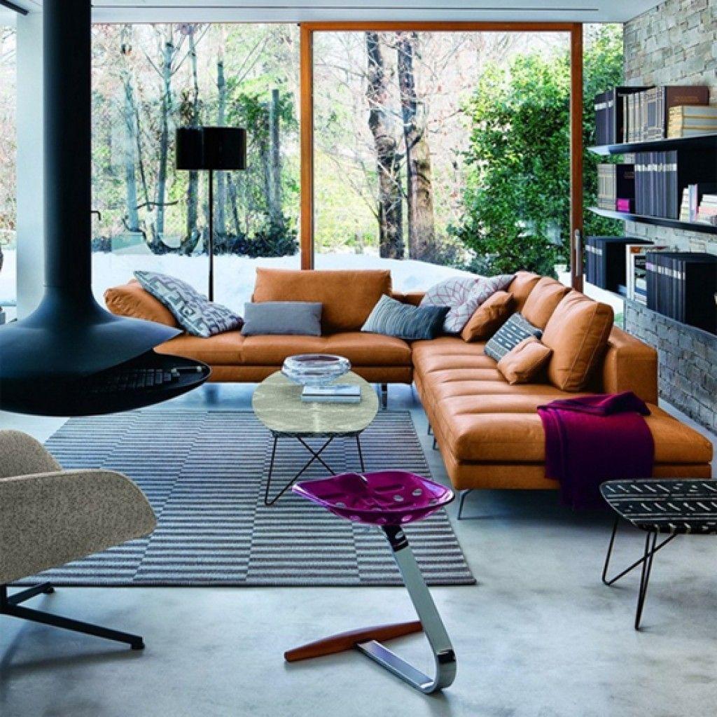 Top 5 Tan Leather Sofas Modern Modular Sofas Home Decor Inspiration Interior