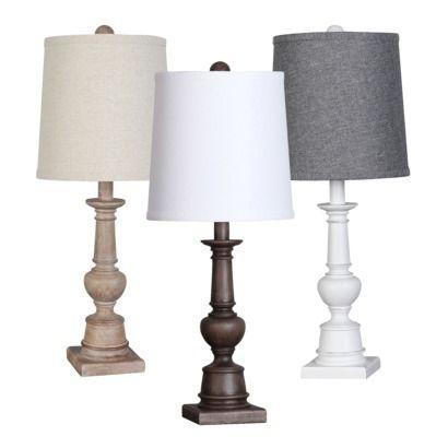 threshold turned wood table lamp includes cfl bulb target base 21 qu. Black Bedroom Furniture Sets. Home Design Ideas