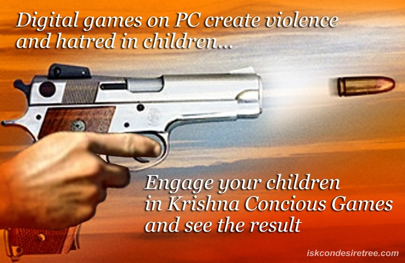 Quotes by Srila Prabhupada on Engaging Children in Krishna Conscious Games