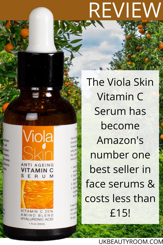 A Review of the Viola Skin Vitamin C Serum in 2020