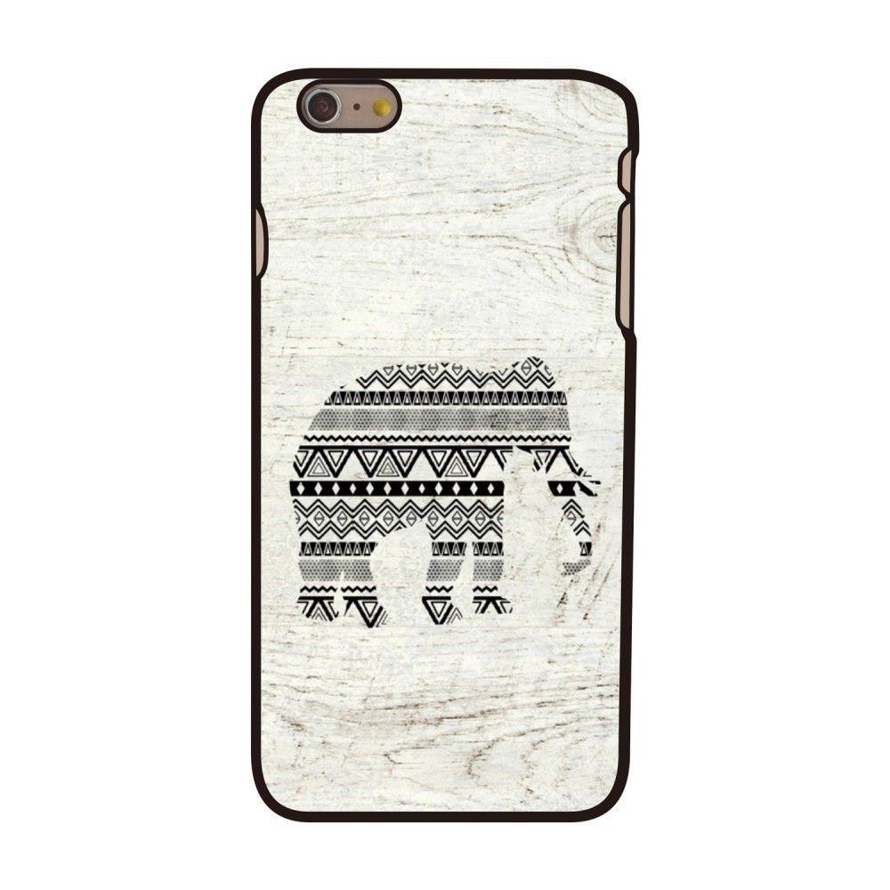 Coque iPhone 6 Plus/6s Plus - Motif éléphant aztèque | Coque ...