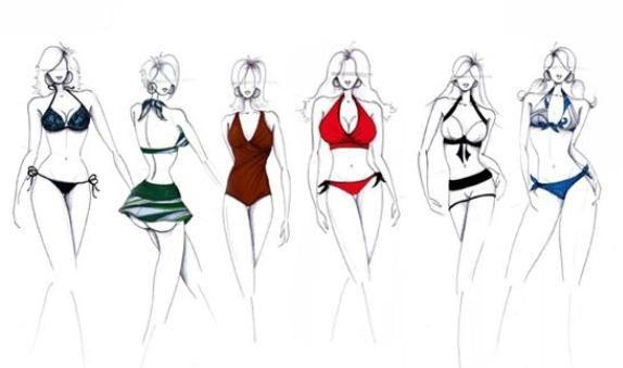 Bikinis according to your body type ...
