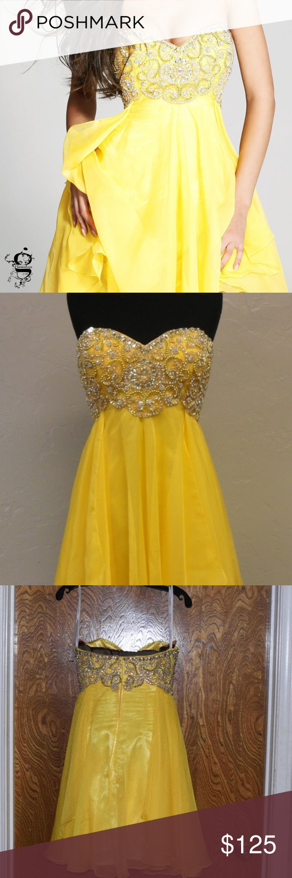 Sherri hill cocktail homecoming prom dress new with tags sherri