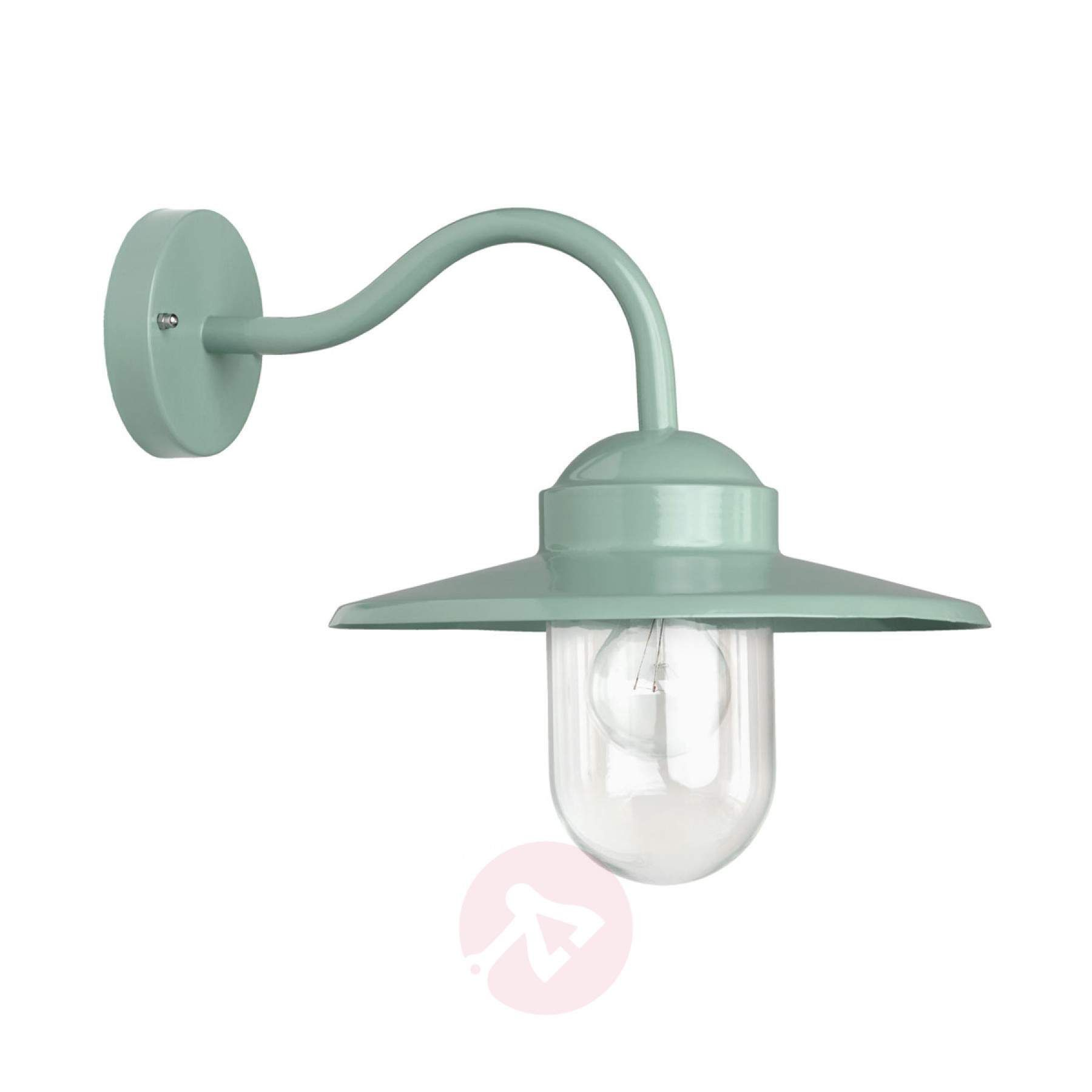 Green Outdoor Wall Light Dolce