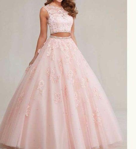 dcf31d801 Vestido De Debutante Longo - R  1.200