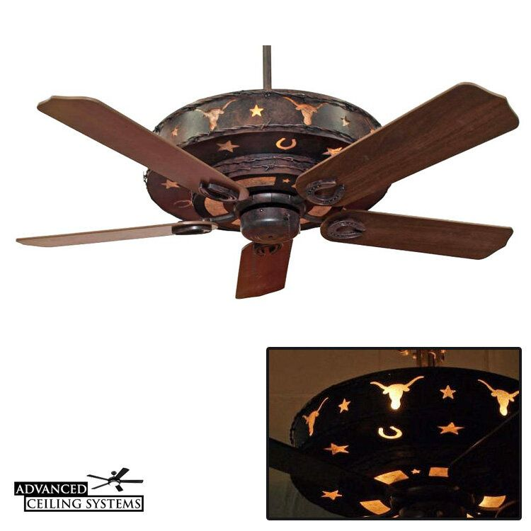 5 Texas Star Ceiling Fans To Complete Your Western Style Decor Advanced Ceiling Systems In 2020 Western Style Decor Star Ceiling Ceiling Fan