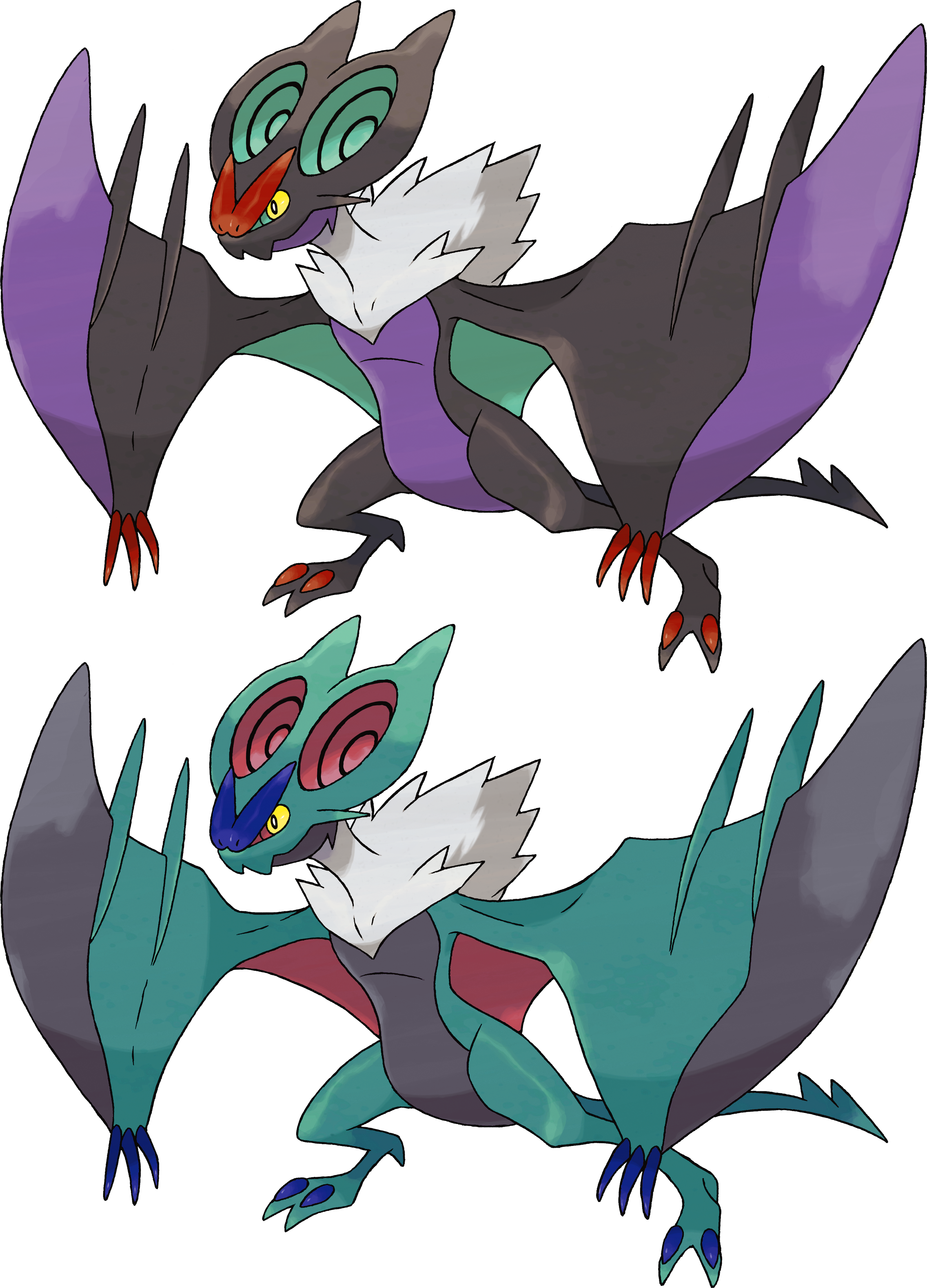 Noivern by KrocF4 on deviantART
