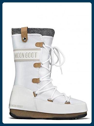 927bca23faacd8 Moon Boot WE Monaco Felt Damen-Winterstiefel (weiss)