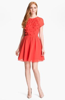 Ted Baker London Organza Fit Flare Dress Online Exclusive Ted Baker
