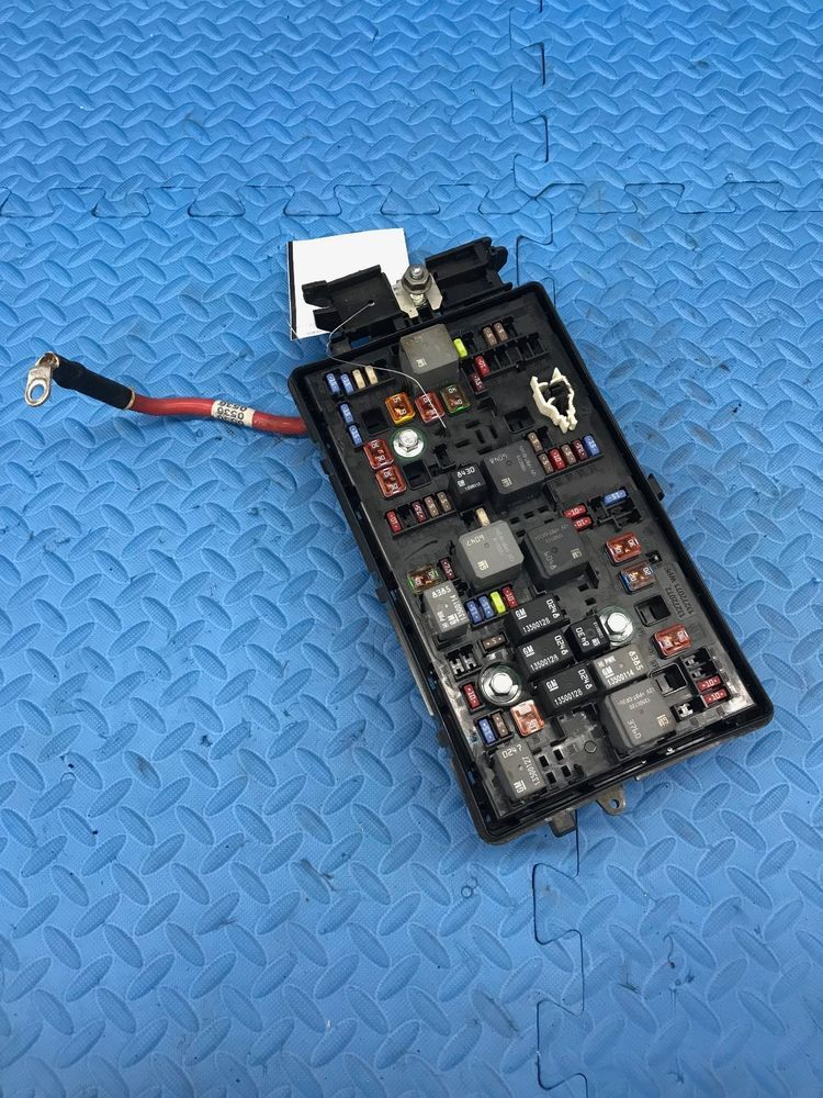 genuine gm 812461952 engine relay fuse power distribution junction Car Glove Box genuine gm 812461952 engine relay fuse power distribution junction box 23158838 gm