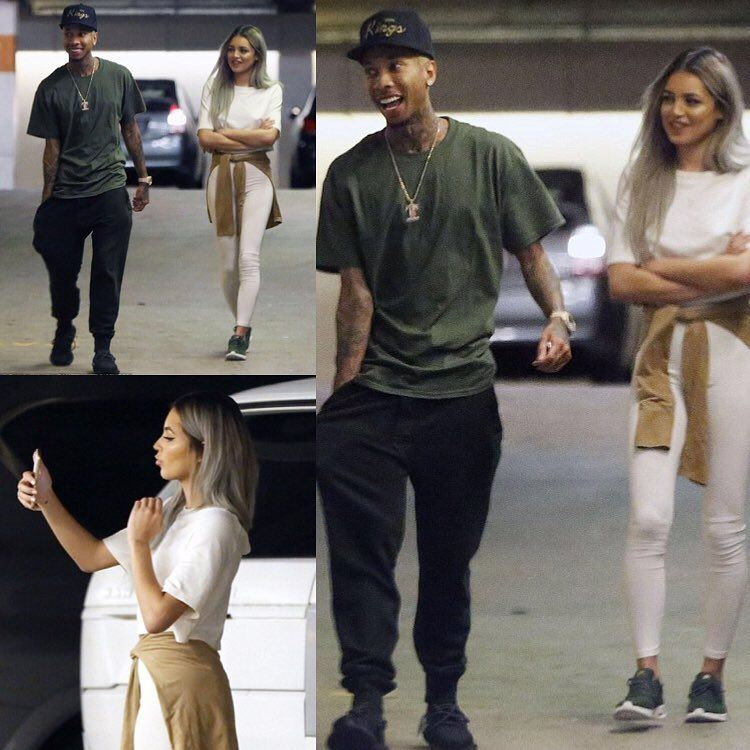Tyga dating instagram model
