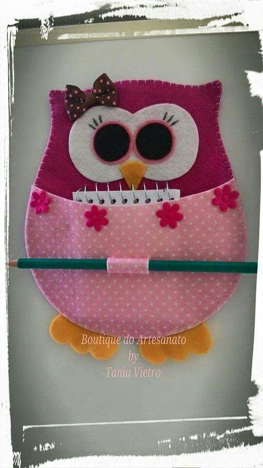 Coruja   Crafts   Pinterest   Eule, Nähen und Filz