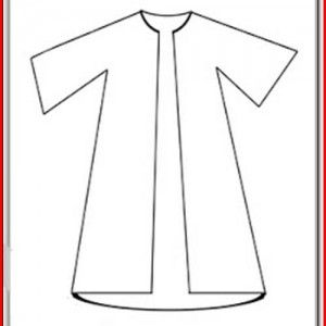 Joseph Coat Of Many Colors Craft Template Josephs Coat