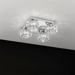 Led Ceiling Light Polished Chrome