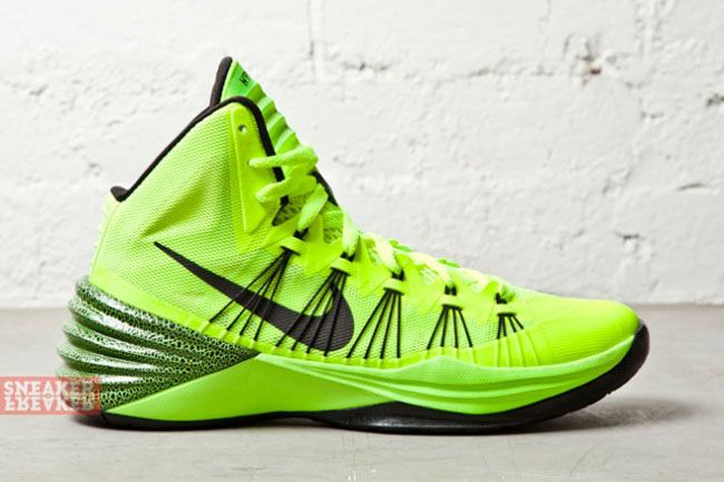 lebron shoes 2013 hyperdunk green