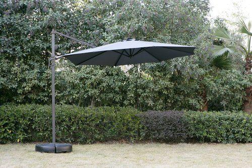 899 Parasol Wiszacy Trondheim S300 Szary Jysk Patio Umbrella Outdoor Outdoor Decor