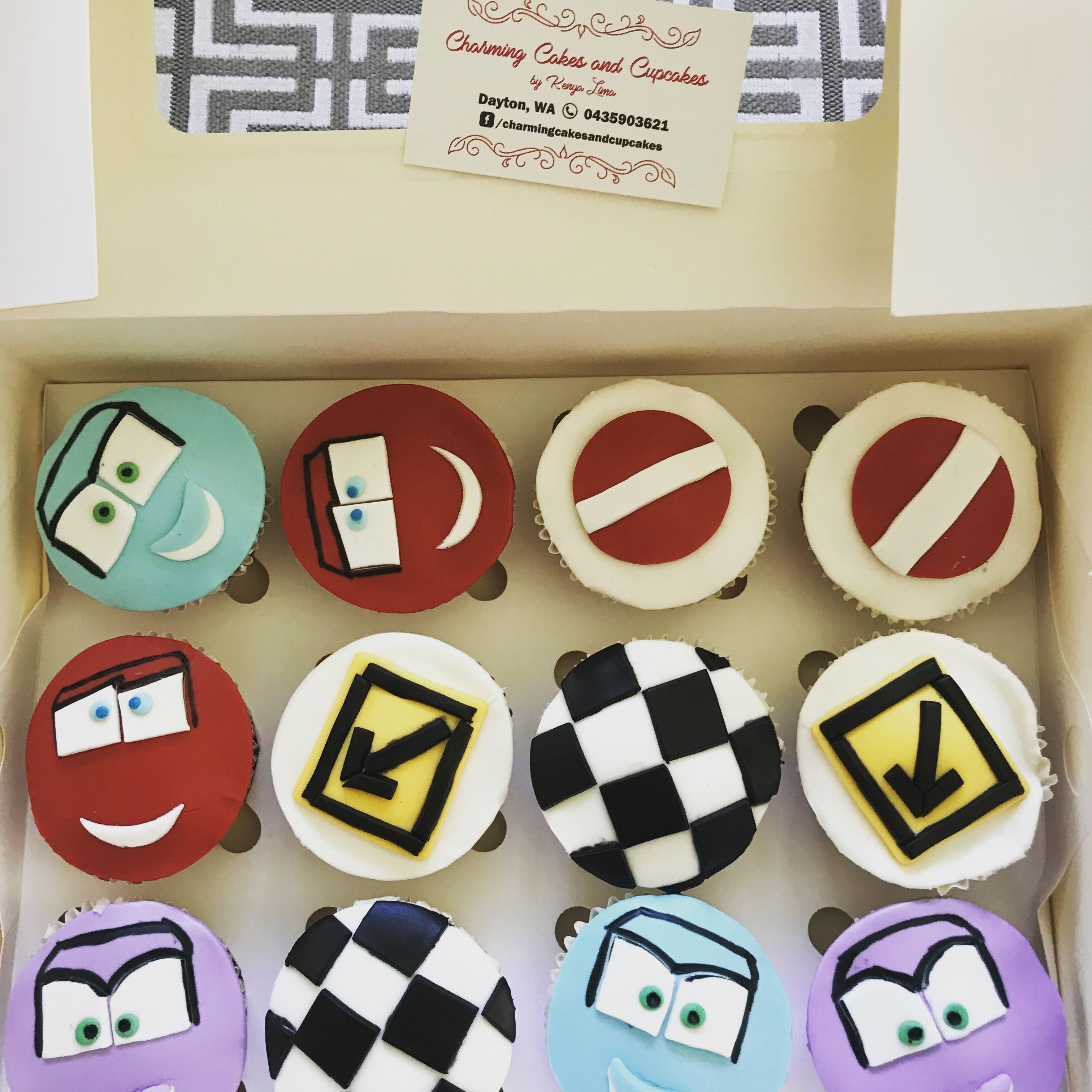 Cars Cupcakes Cars Cupcakes