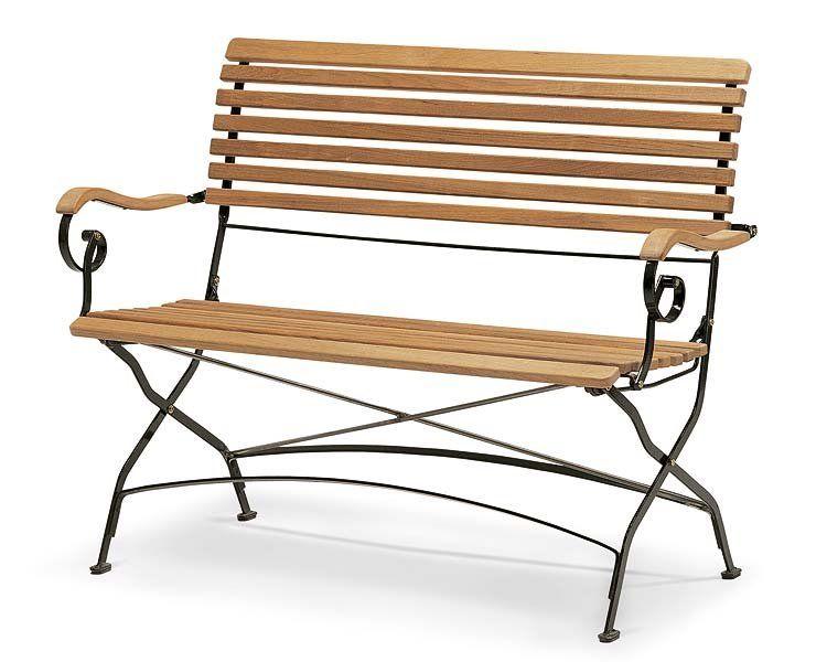 Muebles de exterior para crear un ambiente vintage   Bancos de ...