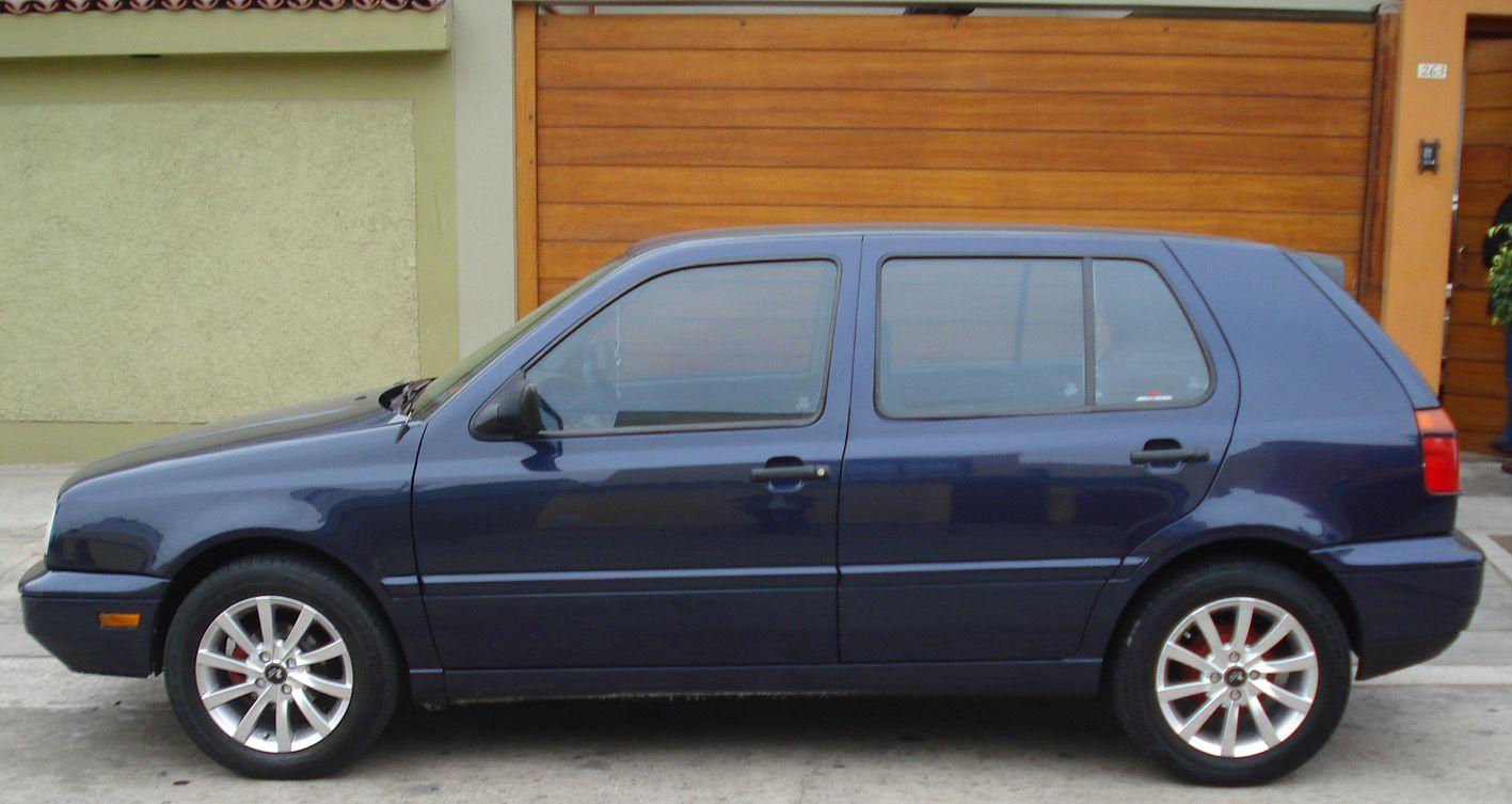 Vw Golf Gl 1996 Blue Google Search Vw Golf Suv Car Suv