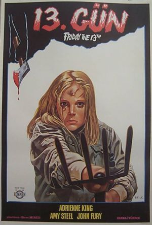 Poster For Friday The 13th Horror Movie Posters Movie Posters Design Friday The 13th