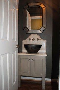 Remodel Bathroom Nashville cobb project - half bath - bathroom - nashville - cabinets plus