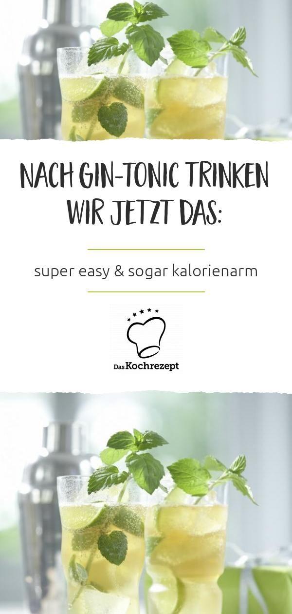 Minze-Gin Tonic – Carey&CleanEatingS
