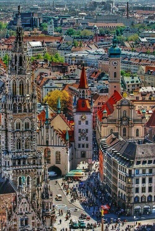 Munich Alemania Viajar A Alemania Lugares De Europa Viajes