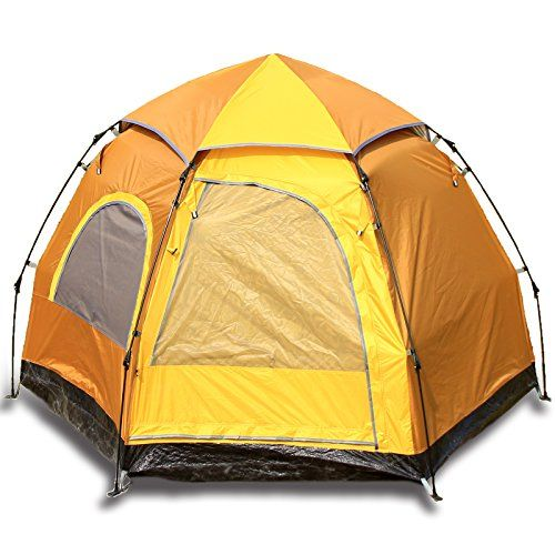 Introducing 4 Person Instant Tent for Family Camping ...
