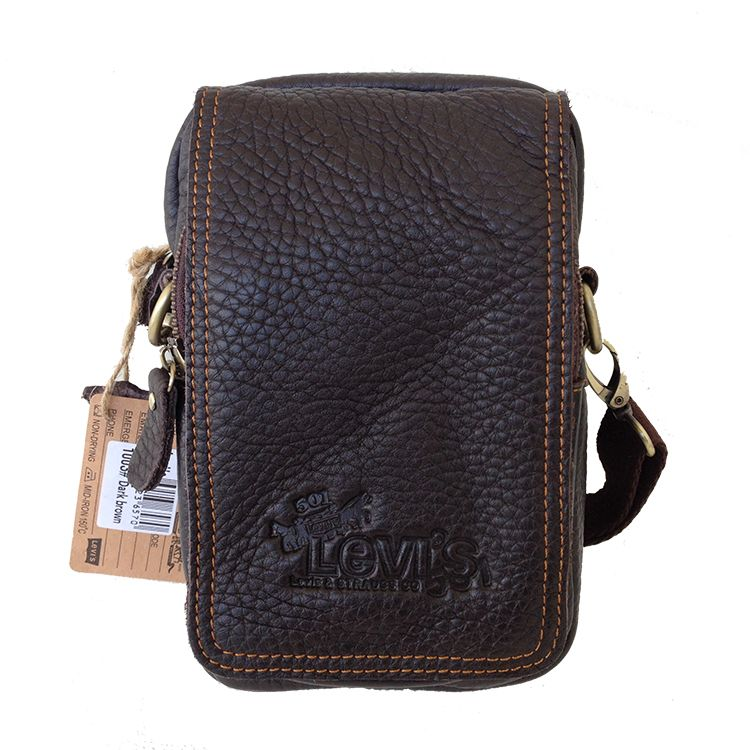 Tas selempang levis 1003 TR028 Premium | Tas Kulit Sling Bag Pria ...
