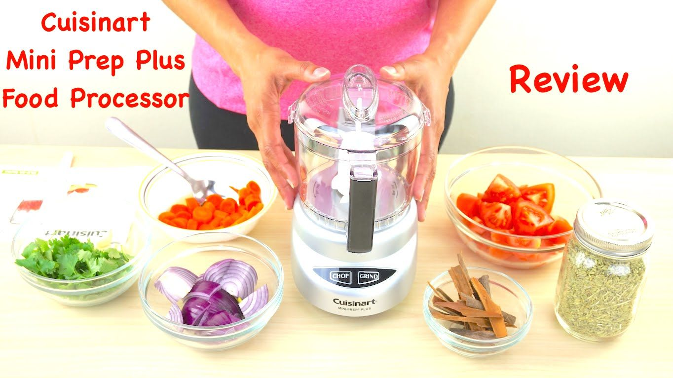 Cuisinart mini prep plus food processor review food