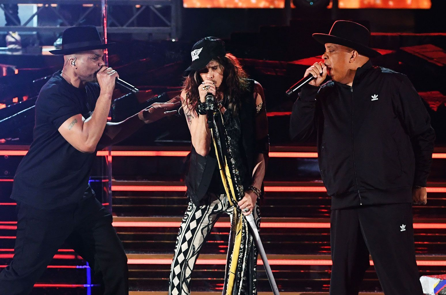 Tbt To Our Co Founder Darryl Of Run Dmc Performing The Iconic Hit Walk This Way With Rev Run And Aerosmith At The Grammys Aerosmith Walk This Way Run Dmc