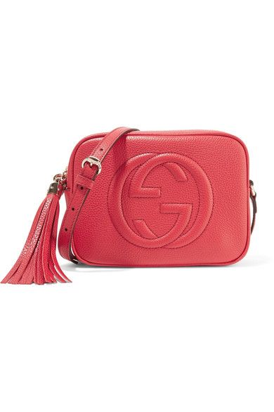 5b7479d9f9ccc GUCCI Soho Disco Textured-Leather Shoulder Bag.  gucci  bags  shoulder bags   leather