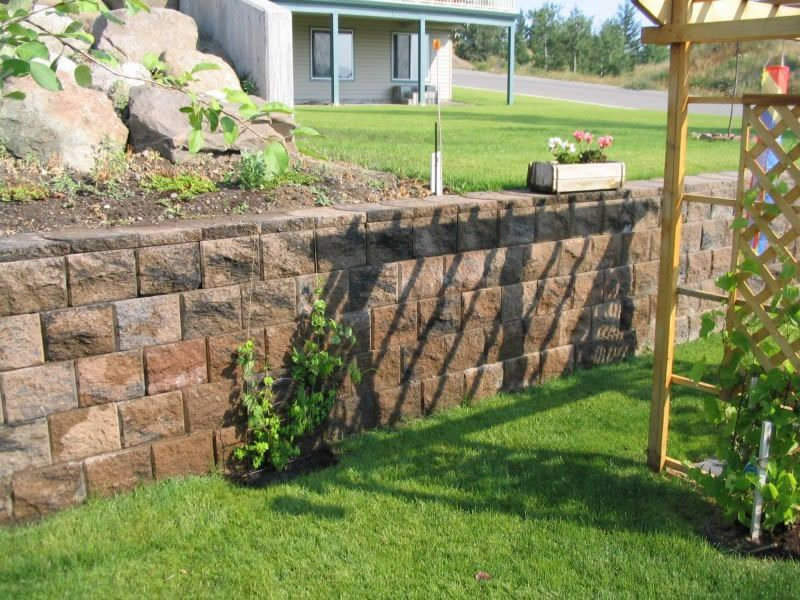 Terraforce Gallery Specifile Retaining Wall Blocks Outdoor Structures Retaining Wall