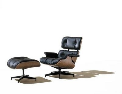 Black Lounge Chair - Charles and Ray Eames