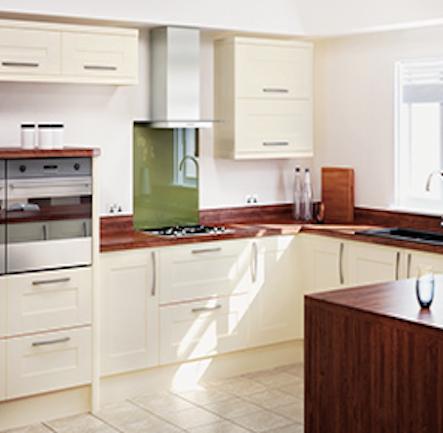 Homebase Hygena Palmaria Cream Shaker Kitchen. Kitchen-compare.com ...