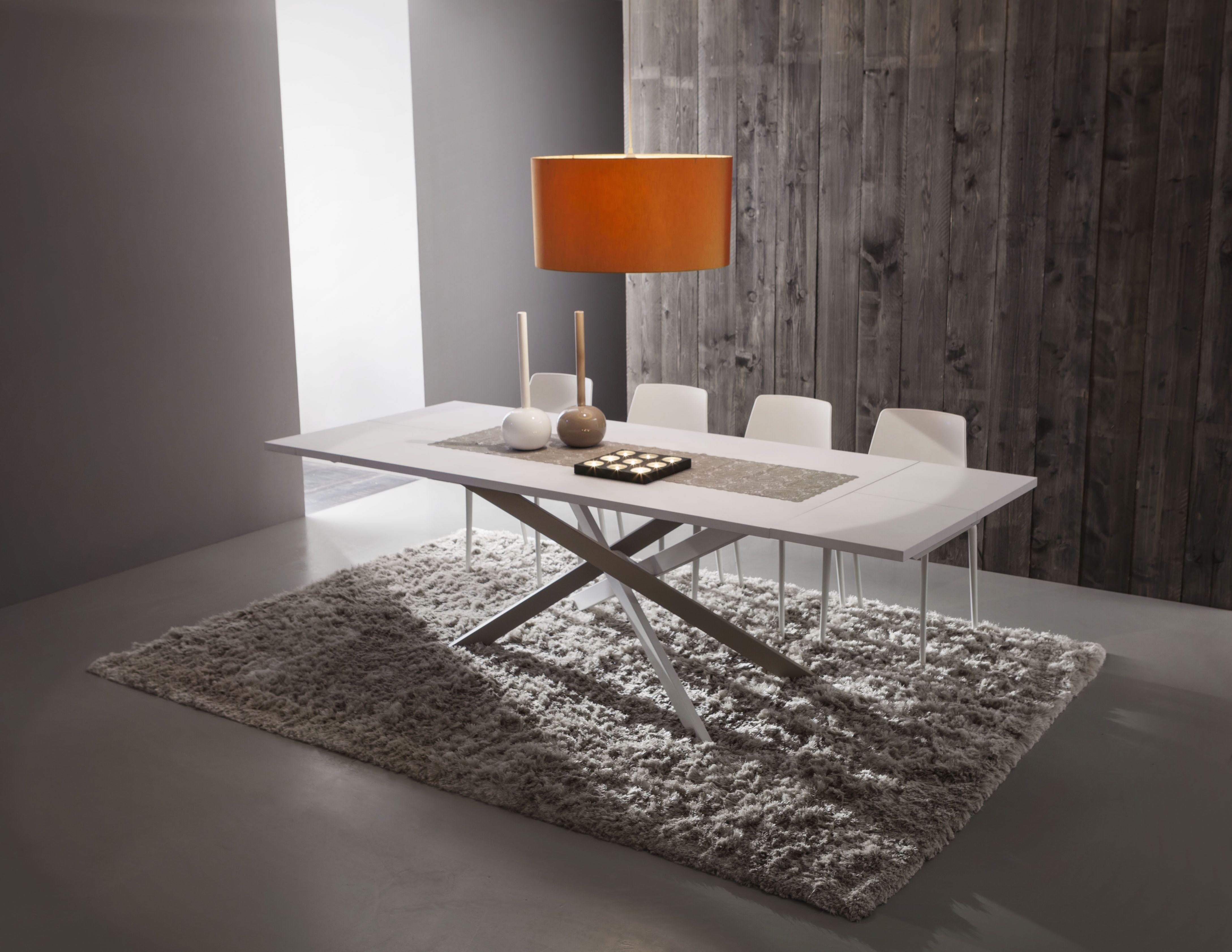 Tavolo Renzo ~ Renzo τραπέζι ανοιγόμενο ή σταθερό με επιφάνεια απο fenix ή ξύλο