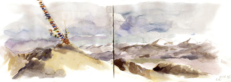 Carnet De Voyage Au Ladakh Delphine Priollaud Stoclet Carnet