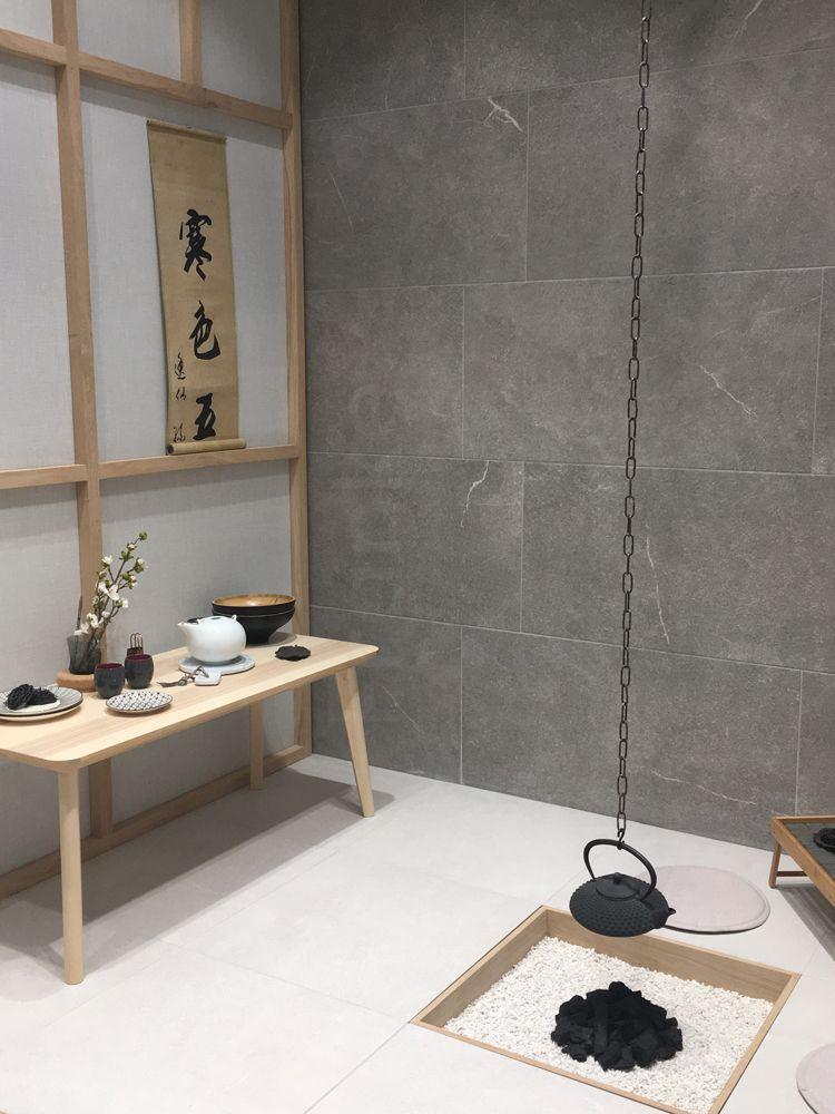 Eleganz und außergewöhnliche Steinoptik, Messeneuheit auf Anfrage - interieur bodenbelag aus beton haus design bilder