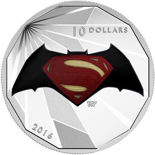 Dawn of Justice™ Silver Proof Coin 2 oz 2016 Batman v Superman
