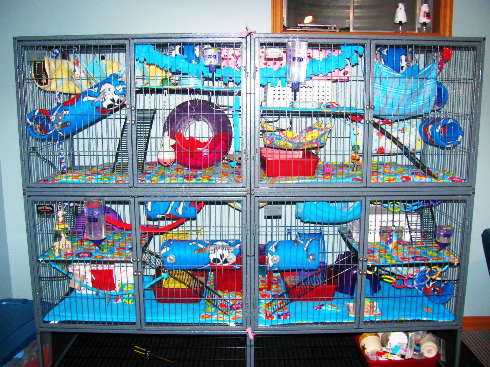 Double Wide Ferret Nation Cage