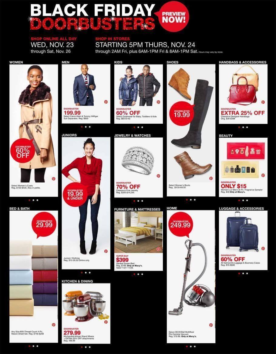 Macy S Black Friday 2016 Ad Http Www Olcatalog Com Dept Clothing Macys Black Friday Html Macys Black Friday Black Friday Ads Online