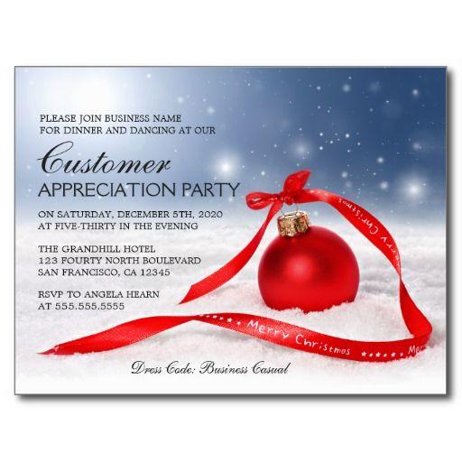 Customer Appreciation Party Flyer
