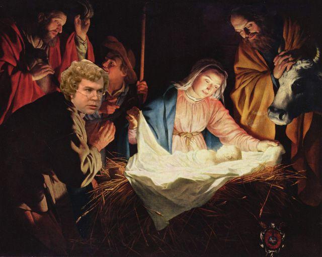 No wonder Mary told everyone Joseph wasn\u0027t the father!!!!! My Boy