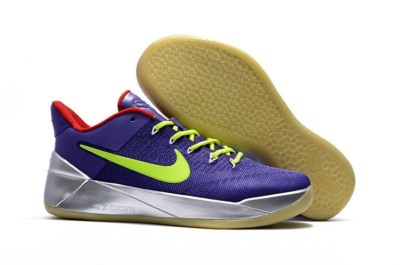 Nike Kobe A.D. Men's Basketball Shoe Purple Green