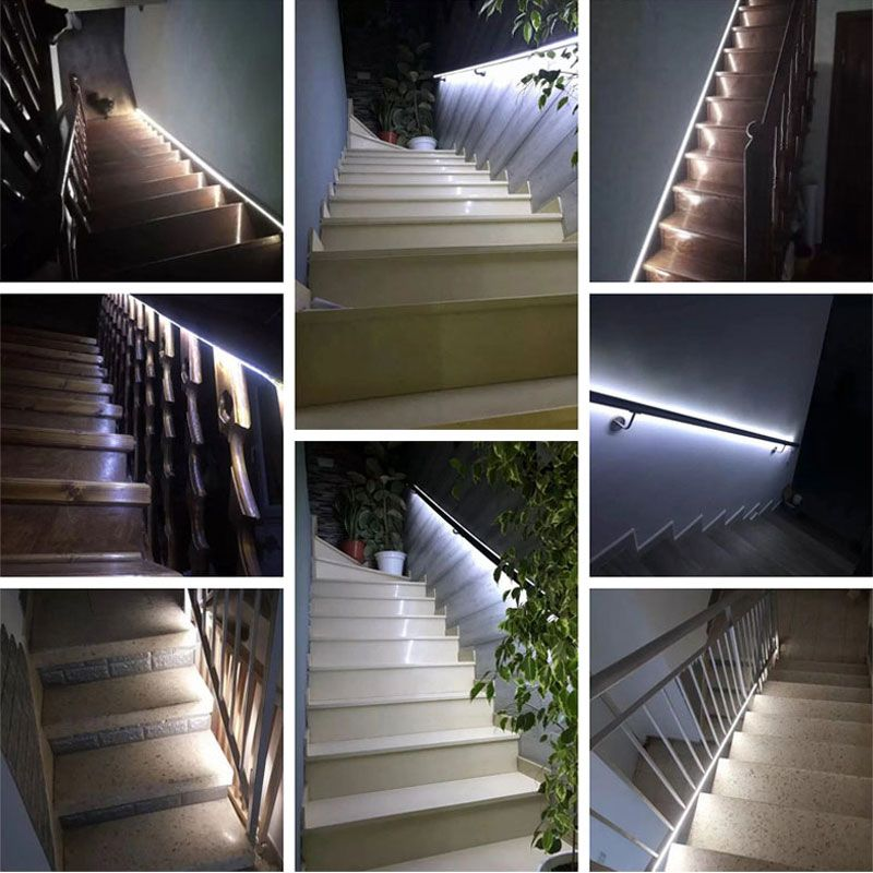 3M 2M 1M LED Smart Stair Light With Sensor In 2020