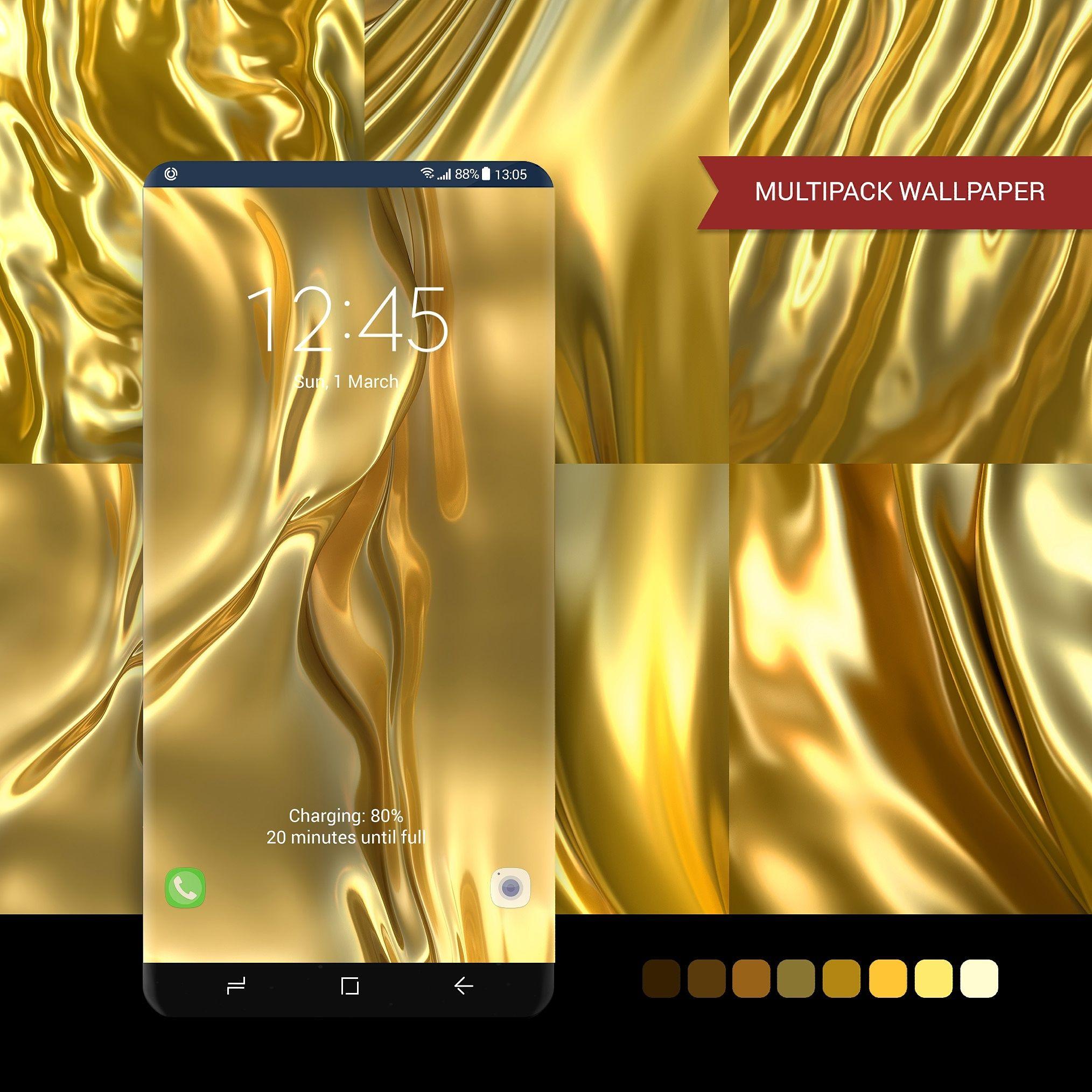 Honey Gold Wallpaper Multipack In 2021 Samsung Galaxy Wallpaper Samsung Wallpaper Gold Wallpaper