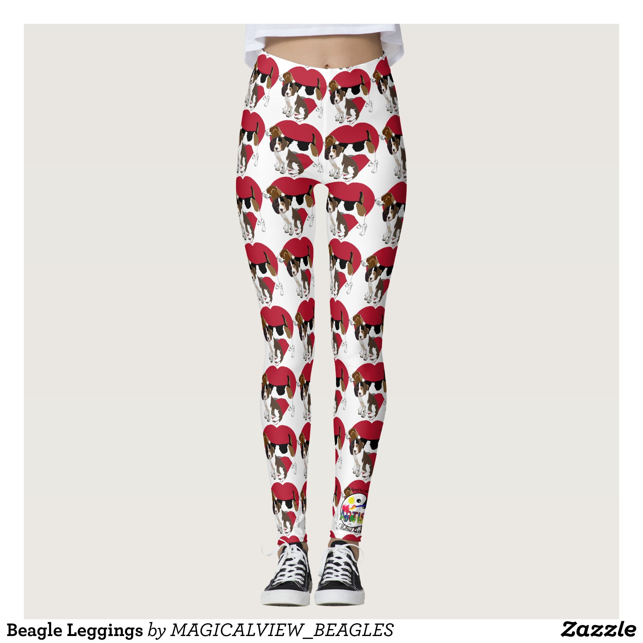 Beagle Designer Leggings