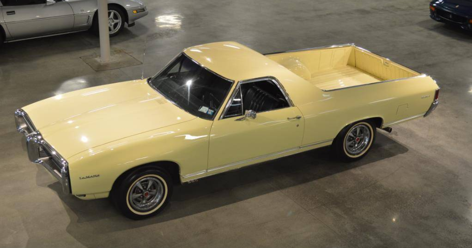 did you know there was at least one pontiac el camino and it 39 s still alive el camino cars. Black Bedroom Furniture Sets. Home Design Ideas