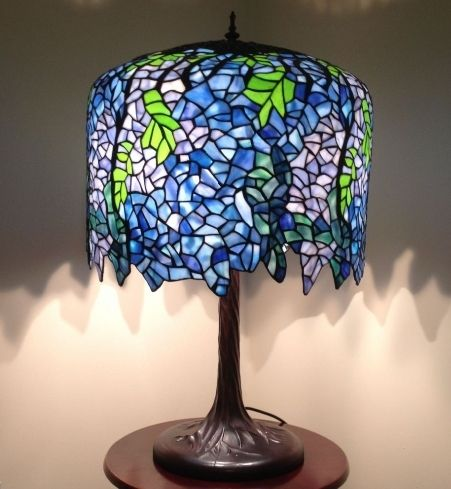Annecy wisteria 18inch tiffany lights table lamp height 28 inch 72 annecy wisteria 18inch tiffany lights table lamp height 28 inch 72 cm diameter 18 inch 46 cm max wattage 2 x 60w material of shade glass socket 2xe27 aloadofball Choice Image